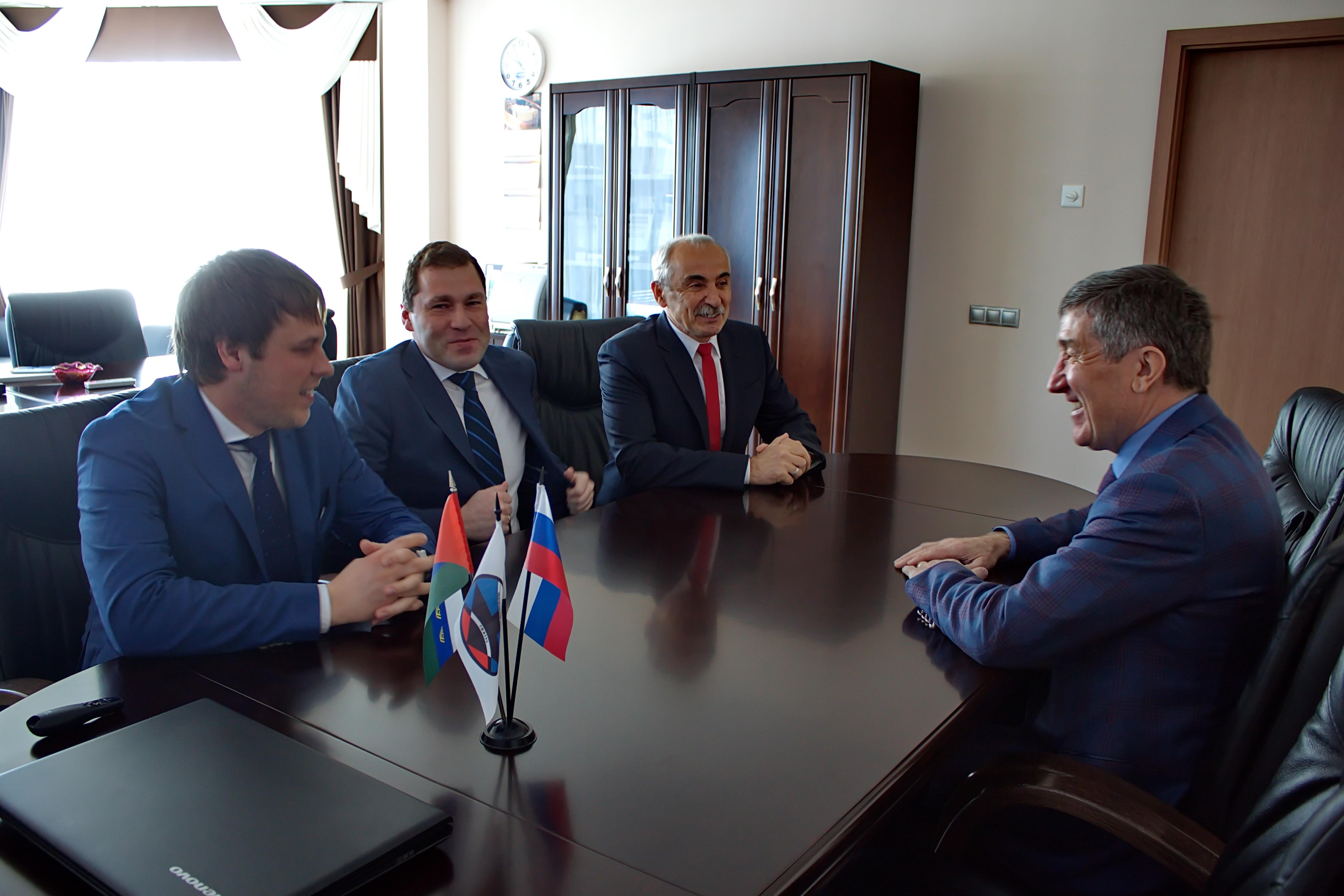 В Тюменском индустриальном университете, 8 апреля 2016 г.