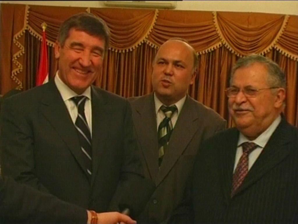 Визит в Ирак; октябрь 2008 г.