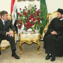 Встреча с духовными лидерами Ирака; октябрь 2008 г.