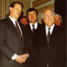 Во время работы комиссии Гор — Черномырдин; 1998 г.