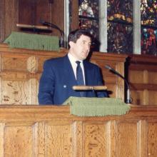 Выступление в библиотеке Конгресса США; Вашингтон, 1994 г.