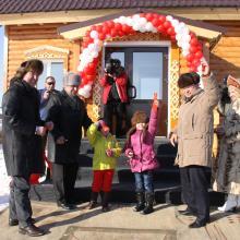 Открытие Центра досуга в с. Карасуле; 17 февраля 2012 г.